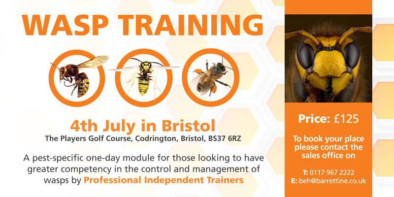 Barrettine Wasp Training Course