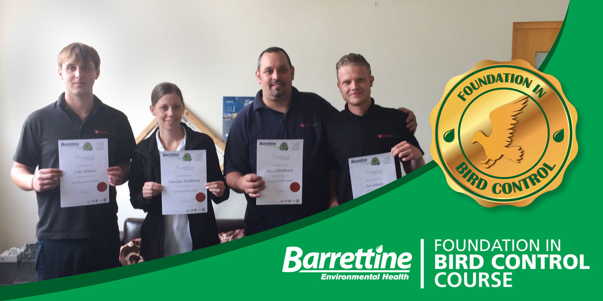 Barrettine Foundation In Bird Control