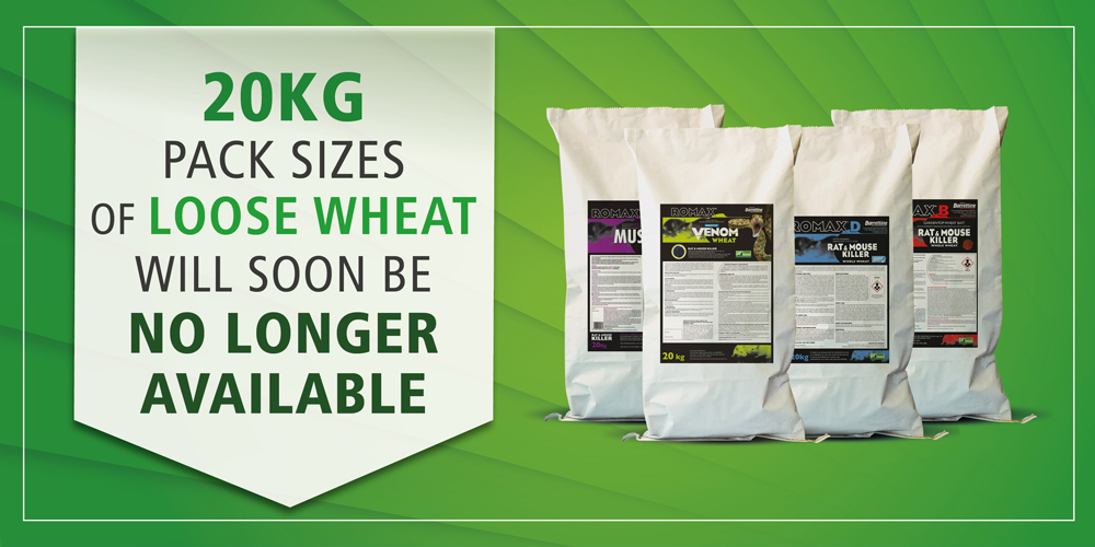 Changes in Loose Wheat Pack Sizes