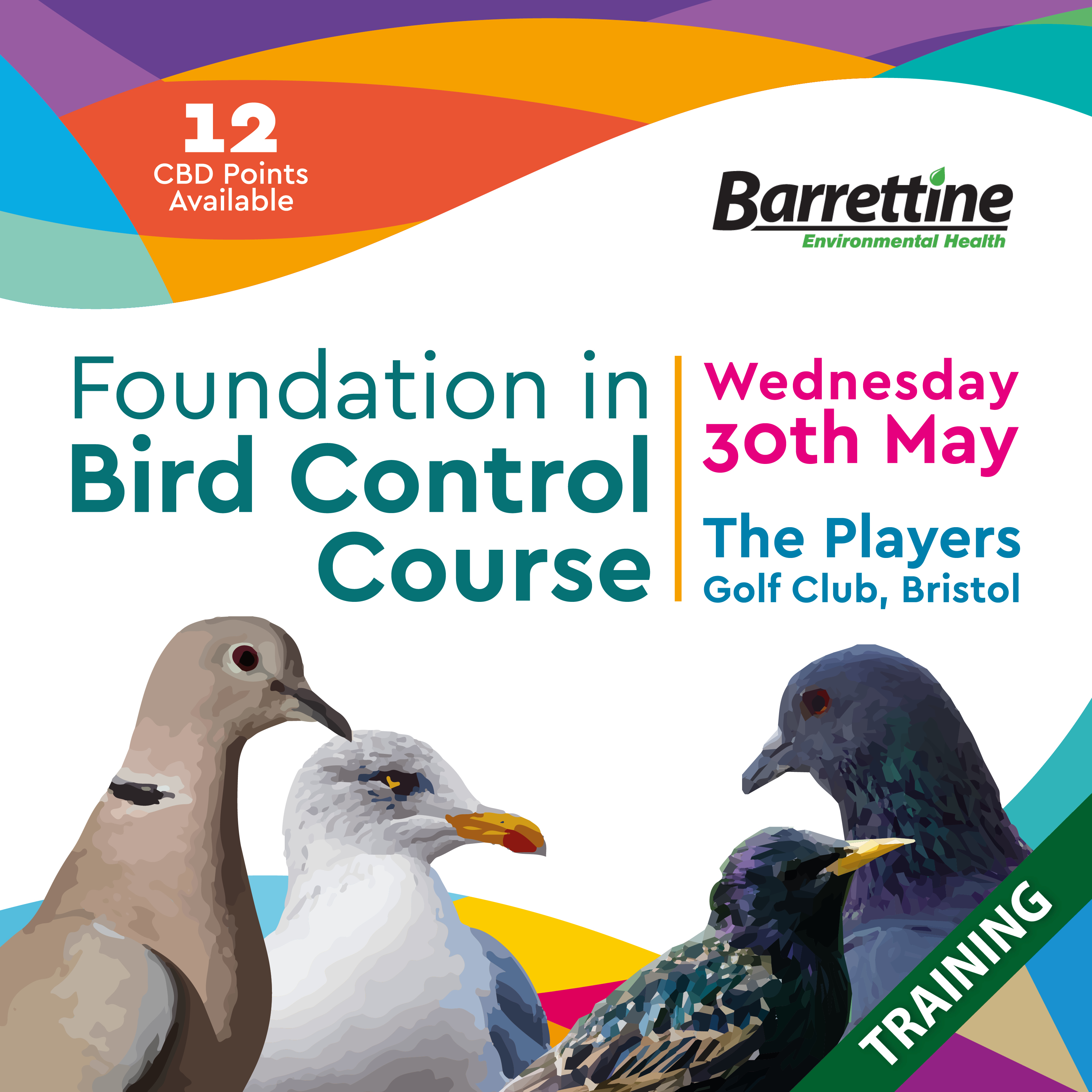 Barrettine Bird Control Course