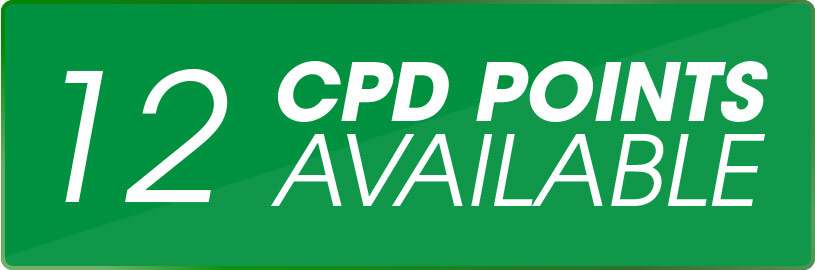 12 CPD Points Available