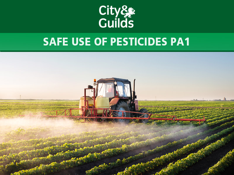SAFE USE OF PESTICIDES PA1 COURSE