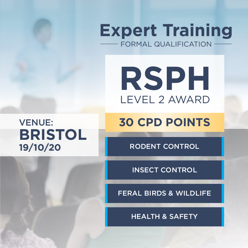RSPH Level 2 Award in Pest Management- Bristol