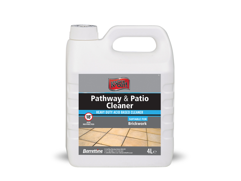 Knockout Pathway & Patio Cleaner