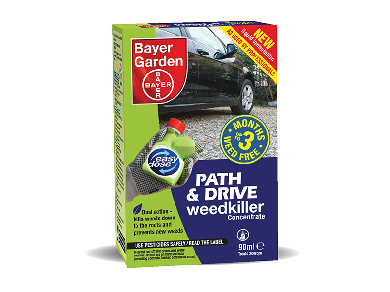 Bayer Path, Patio & Drive Weedkiller Concentrate