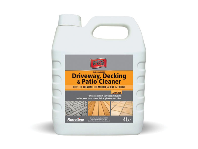 Knockout® Driveway, Decking & Patio Cleaner