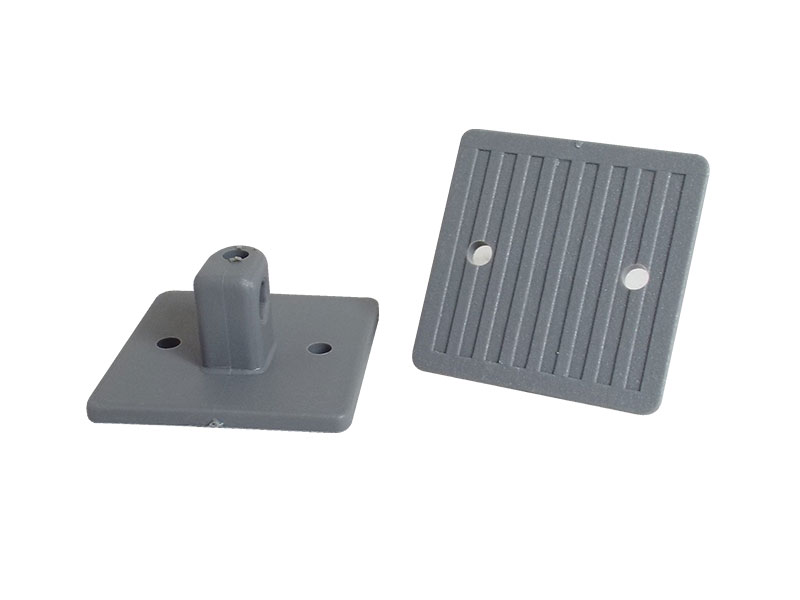 Stick-on Plastic Base, grey