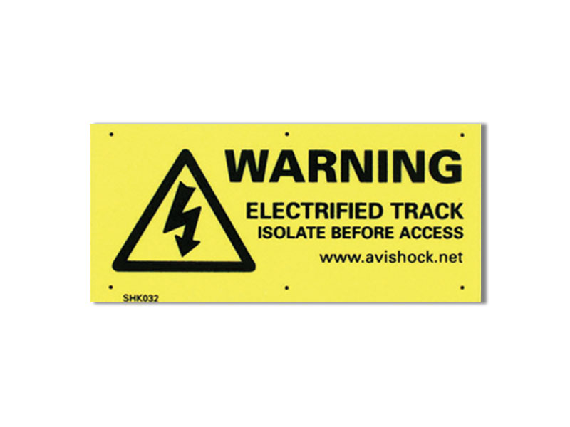 Warning Plates
