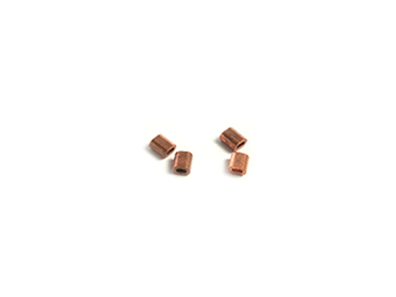 Gull - Professional Copper Ferrules, 2.5 mm diameter