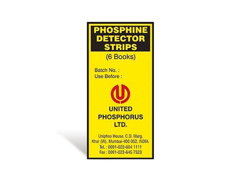 Uniphos Phosphine Detector Strips