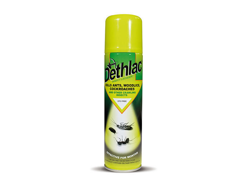 Dethlac Insecticidal Lacquer