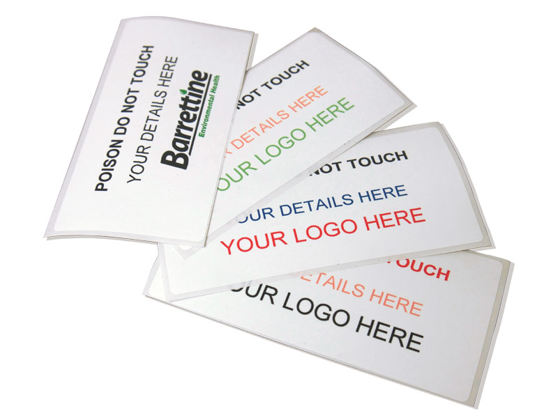 Personalised Colour Labels