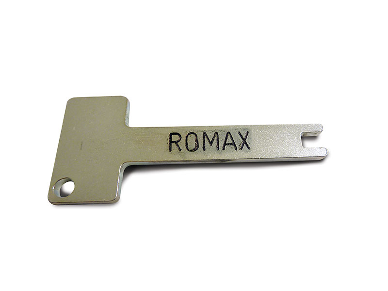 Romax Metal Bait Box Key*