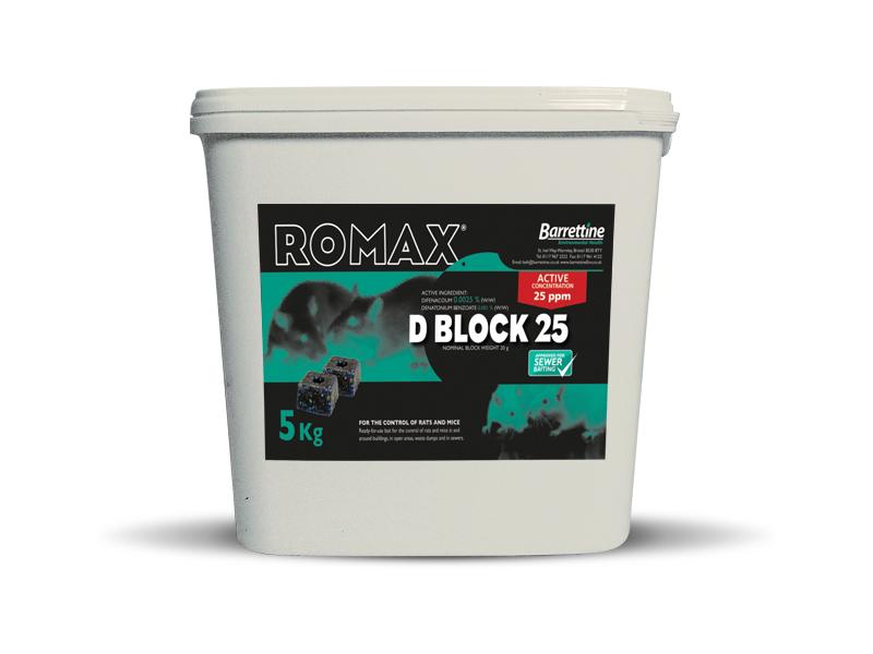 Romax D Block 25*