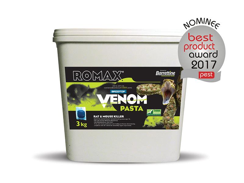 Romax Venom Pasta Sachets