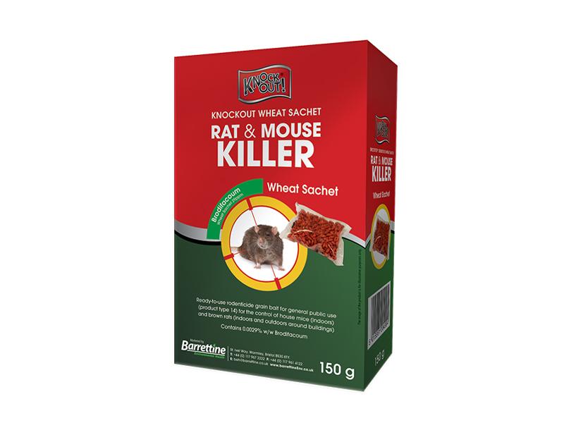 Knockout Rat & Mouse Killer Whole Wheat Sachets