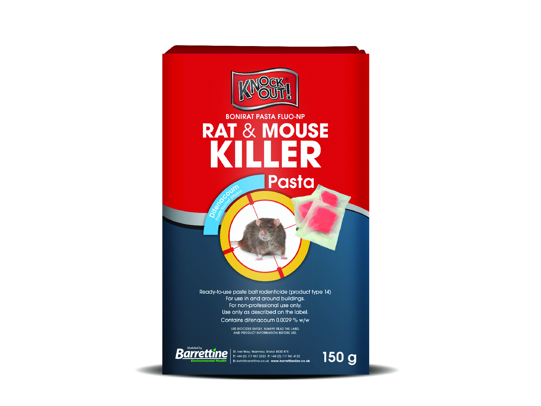Knockout Rat & Mouse Killer Pasta Sachets