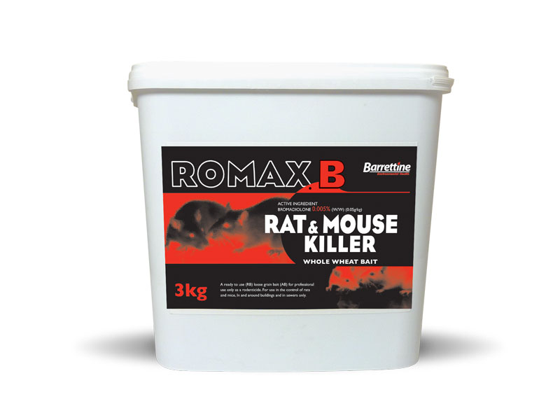 Romax  B Rat & Mouse Killer Whole Wheat