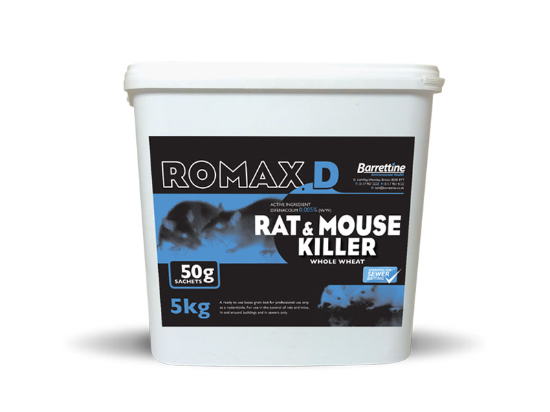 Romax D Rat & Mouse Killer 50 g Sachets