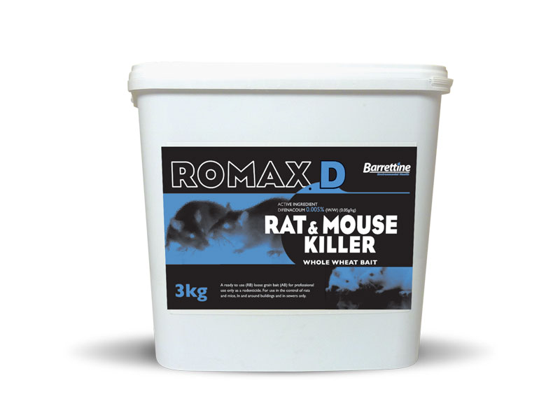 Romax D Rat & Mouse Killer Whole Wheat