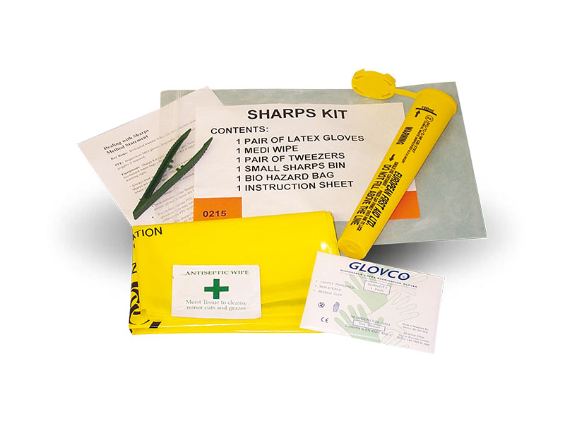 Emergency Sharps Disposal Kit