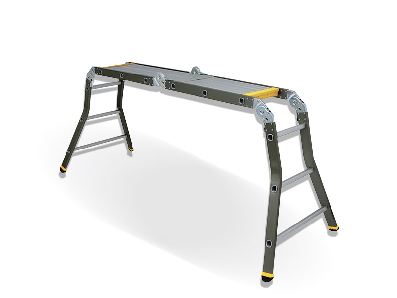 Universal Folding Ladder with Platform 4x3